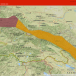 Karte Tur Project Georgien