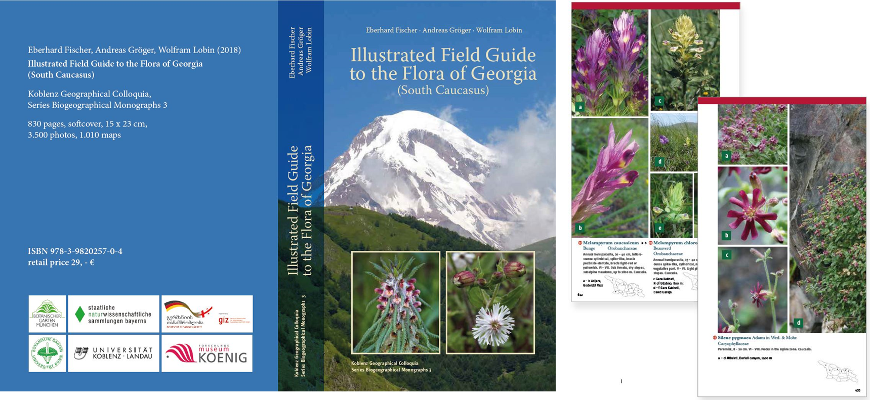Illustrated Field Guide to Georgian Flora